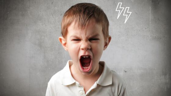 Dühös gyermek